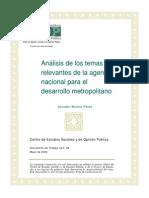 Agenda Desarrollo Metropolitano Docto68