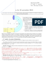 Correction de Partiel1 - Session1 - 2014