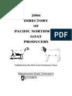 Goat Producers 2006