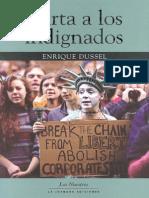 Enrique Dussel - Carta a Los Indignados