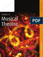 Studies in Musical Theatre