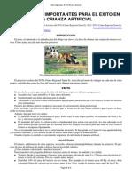 24-Tres_puntos en La Cria de Terneros Parto, Calostrado, Desinfeccion de Ombligo