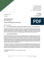 29nov2013 Letter to G McDougall