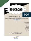 Ana Benavente Levanta-Te e Luta 8 Abril 2013