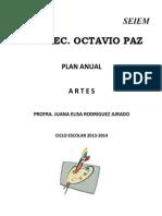 Plan Anual Artes