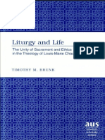 BRUNK T - Liturgy and Life - Excertos