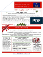 Nativity Scene Newsletter December 2013