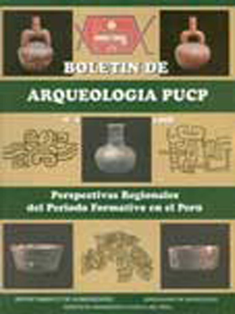 Boletin De Arqueologia Pucp No 02 1998 Numero 02 Perspectivas  # Muebles Ludena Chimbote