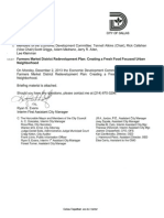 Farmers Market District Redevelopment Plan