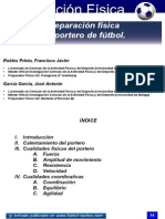 Preparacion Fisica Del Portero de Futbol