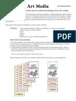 3-Lap Book-Art Media and Movements