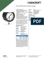 Ashcroft PI 1259 Duragauge Pressure Gauge