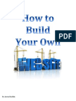 how to build your own website copy