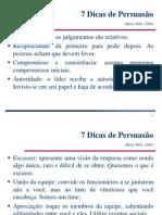 7 Dicas de Persuasão.ppt
