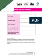 Dementia Design Checklist Booklet