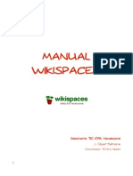 Manual Wikispaces