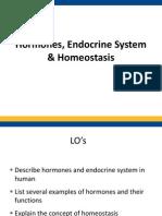 Hormones n Homeostasis WADY EDT