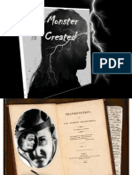 A Monster is Created -Mary Shelly's Frankenstein
