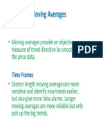 Moving Averages SAPM
