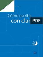 Comisión Europea CE - Cómo Escribir Con Claridad