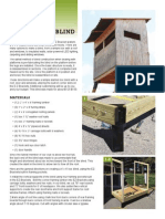 24088566-Trophy-Deer-Stand-Plans-4x6 docx | Framing (Construction