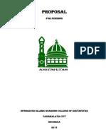 Proposal of Assyafiiyah Integrated Islamic Boarding College