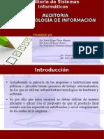 Auditoria de Tecnologia de Informacion - Evaluacion de Sistemas