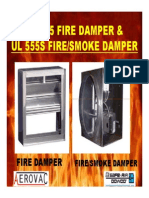 Fire Damper and Fire Smoke Damper