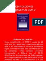 cambios en el DSM V