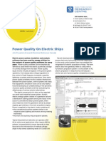 Power Quality on Electric Ships