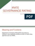 Corporate Governance Rating-1 II(2,3,4)