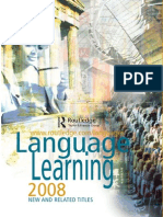 Language Learning 2008