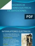 Acsesorios en Las Instalaciones Electricas