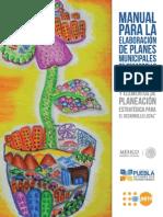 Manual Para La Elaboracion de Los Planes Municipales de Desarrollo