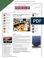29-11-2013 'Unánime, aprueba Cabildo Presupuesto por mas de 1 mil 401 MDP'
