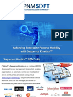 Enabling the Mobile Workforce - Achieving Enterprise Process Mobility