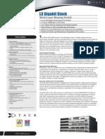 DGS-3600 Datasheet 10(W)