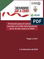 Protocolo para el concurso de Carteles en el Día Internacional de la Acción contra el SIDA