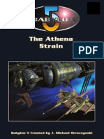 D20 - Babylon 5 RPG - 1st Edition - Adventure - The Athena Strain