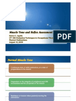 Muscle Tone and Reflex Assessment