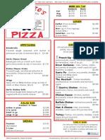 garb menu