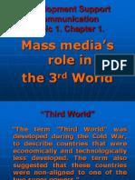 Mass Media Role of Third World