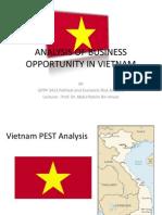 1. Vietnam Pest Analysis