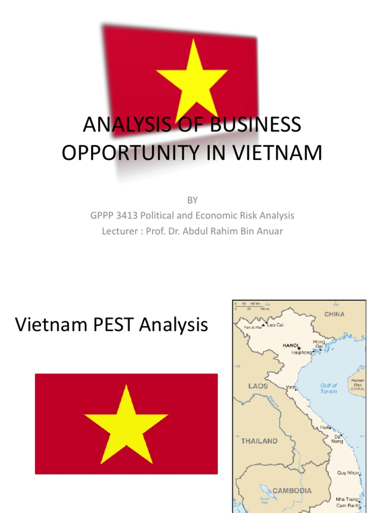 pestle analysis of vietnam Retail market analysis in vietnam and suggested growth strategies for retailers case company: big c supermarket lahti university of applied sciences.