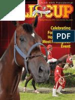 PCSO 2012 Presidential Gold Cup Souvenir Magazine