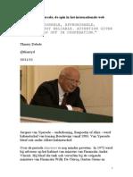 Jacques van Ypersele, spin in het internationale web