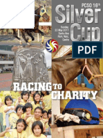 PCSO 2011 Silver Cup souvenir magazine