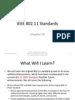 2010 Cwna - Pp 5 - Ieee 802.11 Standards
