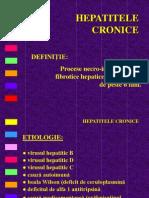 1.Hepatite Cronice