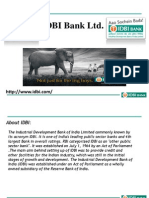 IDBI Bank Powerpoint Presentation